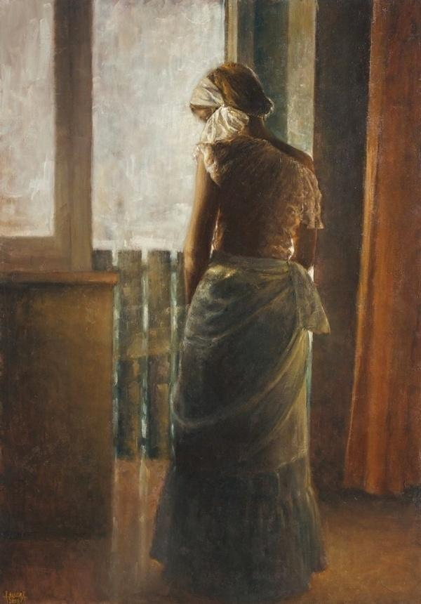 波兰女画家爱丽娜西贝拉人体油画作品欣赏
