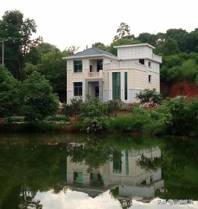 农村建房知识,前有照,后有靠,这样建房才家族兴旺,财运亨通