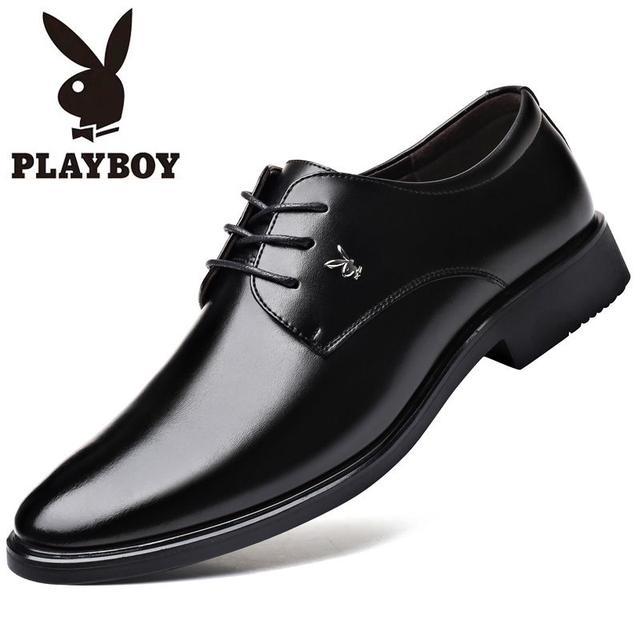 经典休闲正装皮鞋,适当的内增高你会需要的-副本