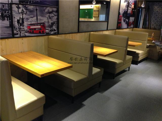 餐厅桌子订造,茶餐中餐厅桌子,定制餐饮店家具餐台餐桌