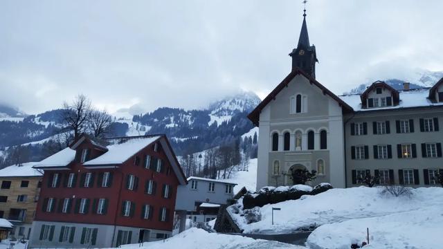 走进欧洲——瑞士阿尔卑斯雪山