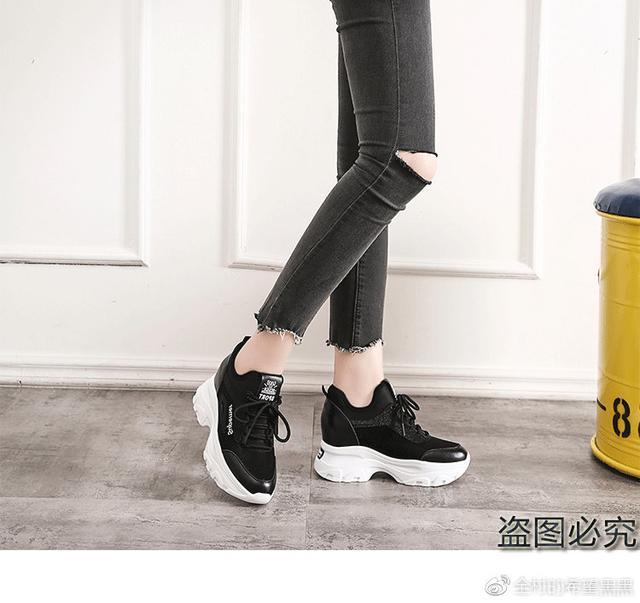 内增高休闲鞋女鞋潮
