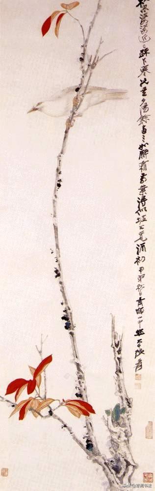 名画欣赏:张大千传世名迹《金璧双辉 巫峡清秋》