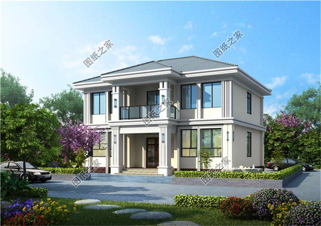 盖房子设计图农村一层