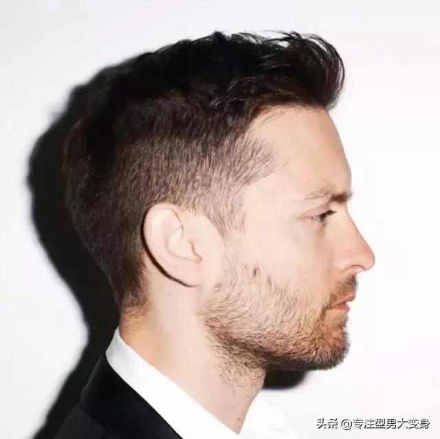 发型配脸型男