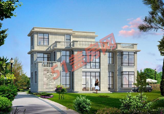 农村自建房只要合适不要贵,3栋砖混二层别墅,平顶适合农村自建