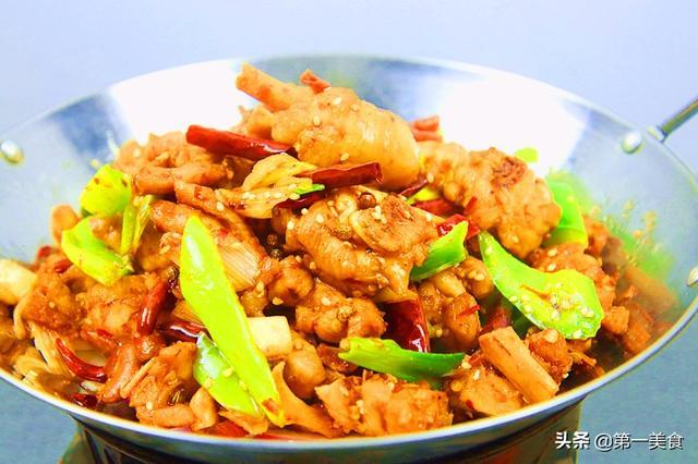 这才是干锅鸡的正确做法,太香了,下酒又下饭,吃一口满嘴香!