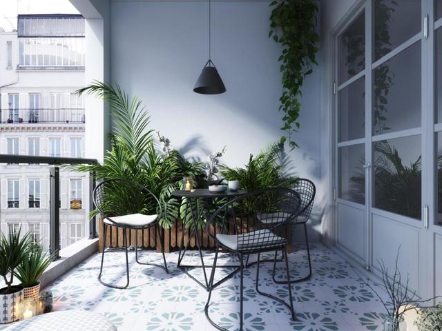 阳台一定要这样贴瓷砖,不仅好看又实用,全小区都羡慕不已