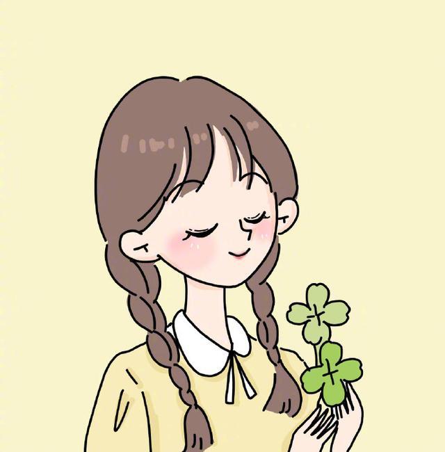 女生头像可爱卡通手绘