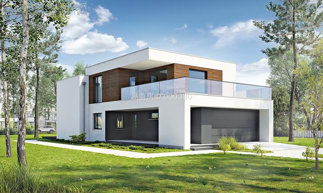 小别墅二层样式设计图
