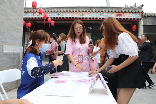 【文明实践在行动】志愿服务蓝马甲——青年广场活动的别样风景