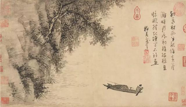 嘉兴红船绘画图片