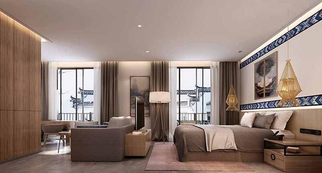 成都酒店装修设计/酒店装修施工需要注意哪几个方面?