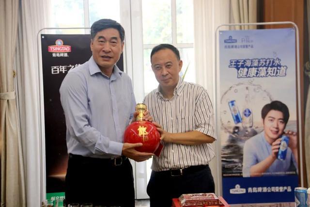 品质追求无问西东,百年品牌领导人黄克兴汪俊林共谋青啤郎酒活力焕新