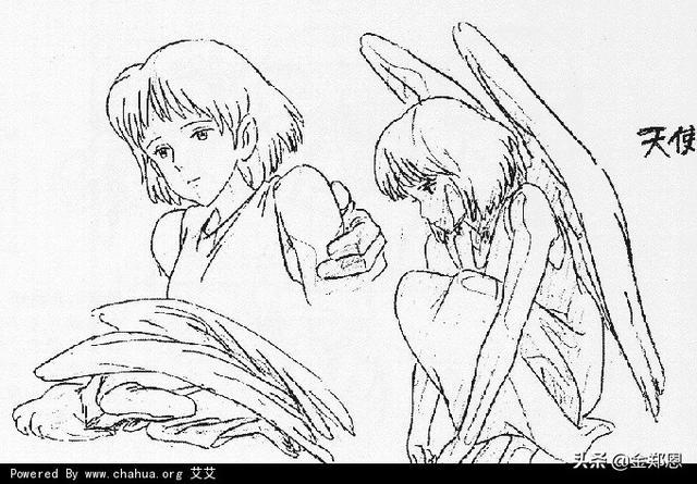 线描宫崎骏动漫图片大全