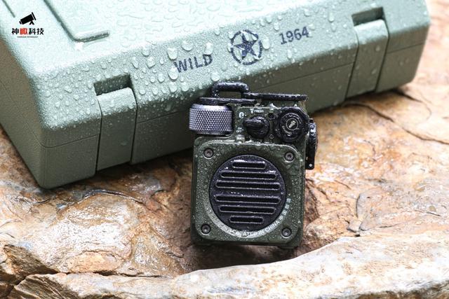 野性和优雅的结合-猫王野性mini蓝牙音箱