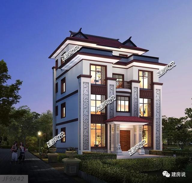 10米宽12深房子设计图