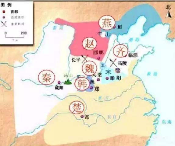 历史上战国七雄的都城,只有这座现在还是一线城市,其它全部没落