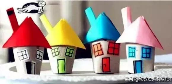 幼儿园楼房卡通图片
