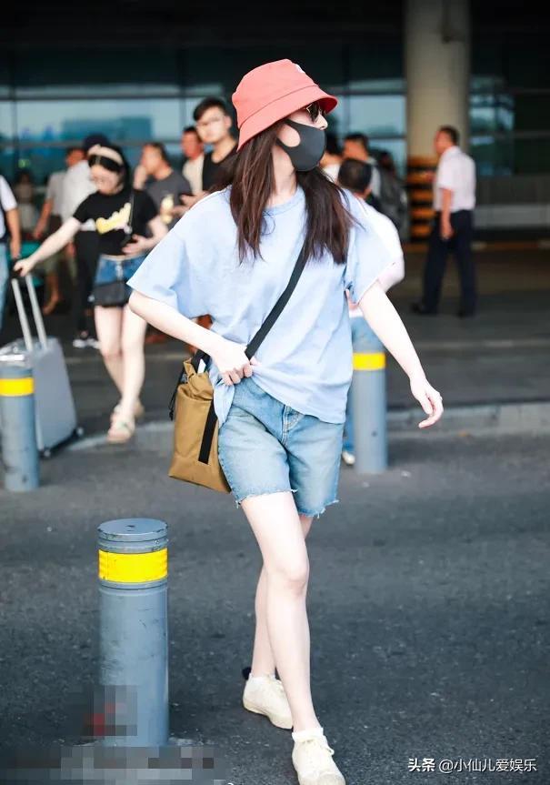 """倪妮也偷偷發福?為拍廣告穿體操服,這""""筋肉腿""""是認真的嗎"""