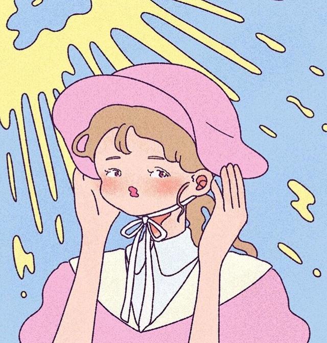 动漫卡通头像女生可爱