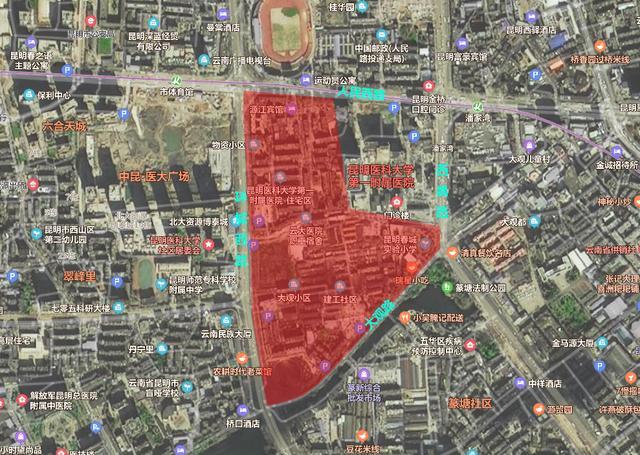 棕树营城改新推进!项目扩大至261亩 昆明一环内住宅教育增加