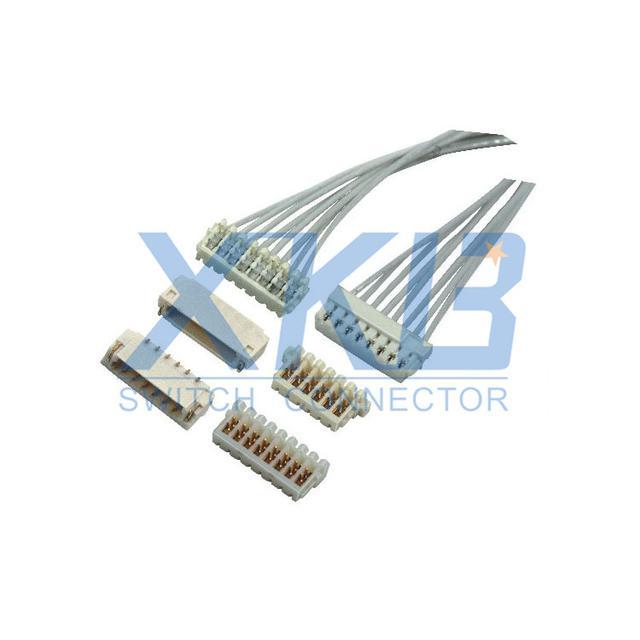 XKB品牌的X0800HI连接器可完美兼容JST SUR 0.8刺破式连接器