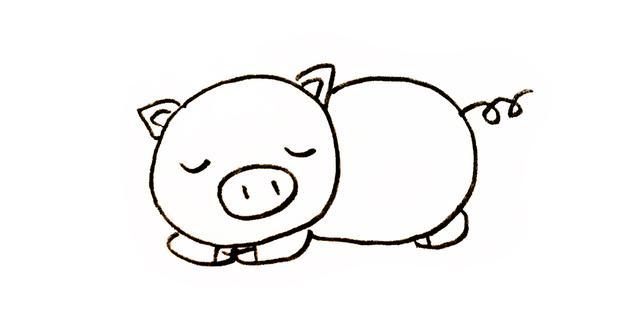 动物简笔画大全彩色