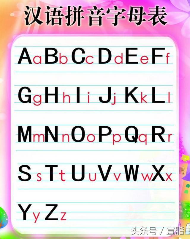 英文字母纹身