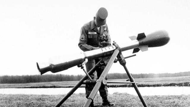 美国M-388核火箭筒(冷战时期装备的世界上最小的核武器)-百科
