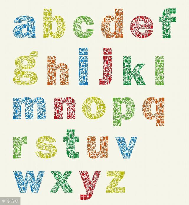 26英文字母大图
