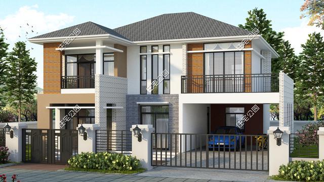 农村钢结构房屋效果图