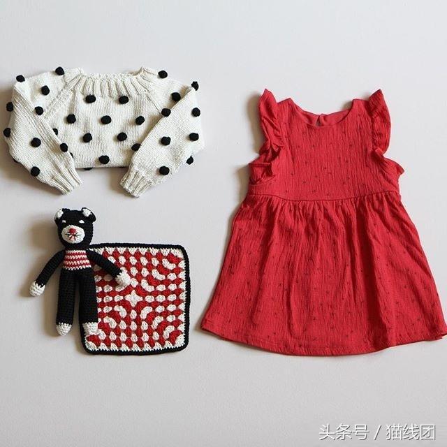 婴儿连体衣编织图解