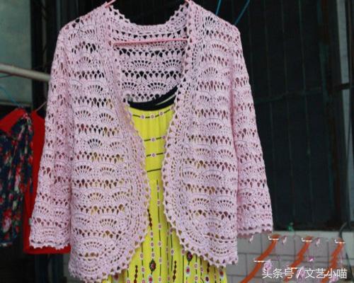 长袖女童开衫毛衣编织教程,喜欢编织的宝妈们都要看看哦!