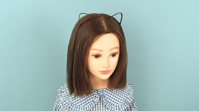 小女孩发型