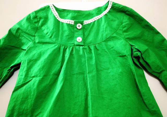 女童长袖衬衫 好吗?