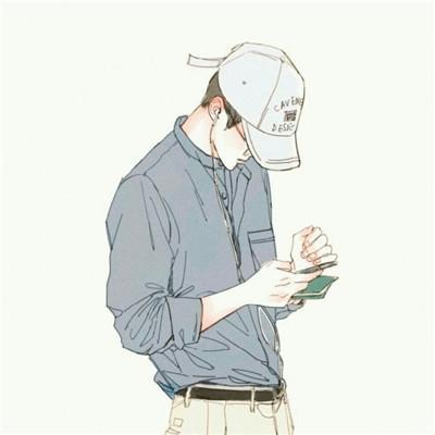 男生动漫头像可爱帅气2018精选