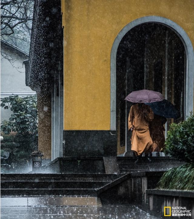 灵隐寺图片风景图片