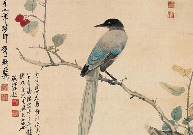 意境闲逸,风神独具,敷色清嫩鲜活,张大千9幅花鸟画欣赏