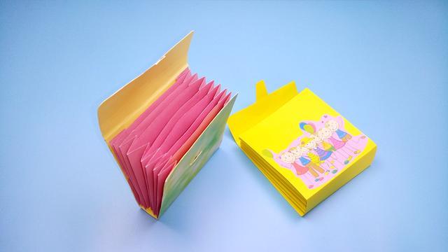 手把手教你折一个文具盒,简单实用的折纸教程_头条视频