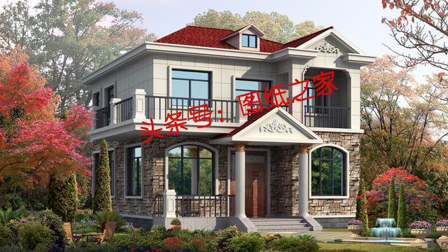 新农村3层独栋小别墅,13X12米占地面积,住进去舒服一辈子!