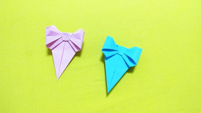 蝴蝶结的折法