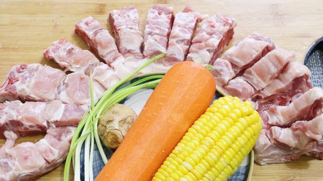 简便美味:养生壶煮出来的胡萝卜猪骨汤
