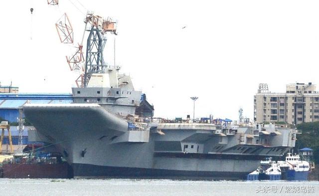 """""""维沙尔""""号核动力航空母舰,印度海军的""""野望""""将成泡影"""