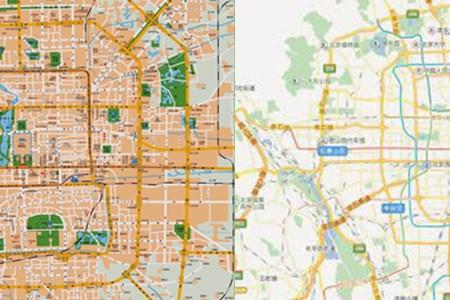 北京旅游景点分布图
