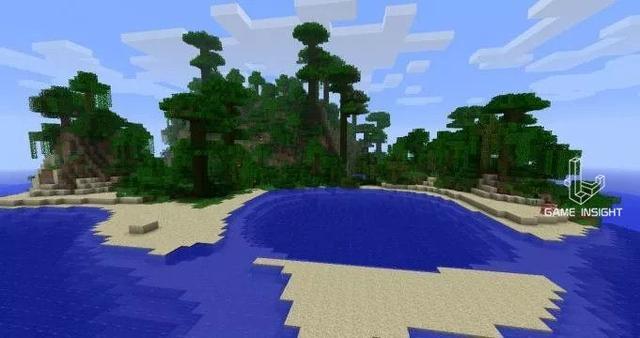 我的世界:生存玩家最爱的10个种子,这么酷的出生点你见过吗?