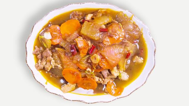 冬瓜炒肉片怎么做_冬瓜炒肉片的做法_y圆子y_豆果美食