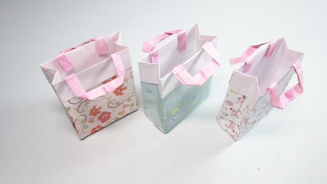 几种有意思的礼品盒(袋)折法图解 赶快学起来-手工客官网