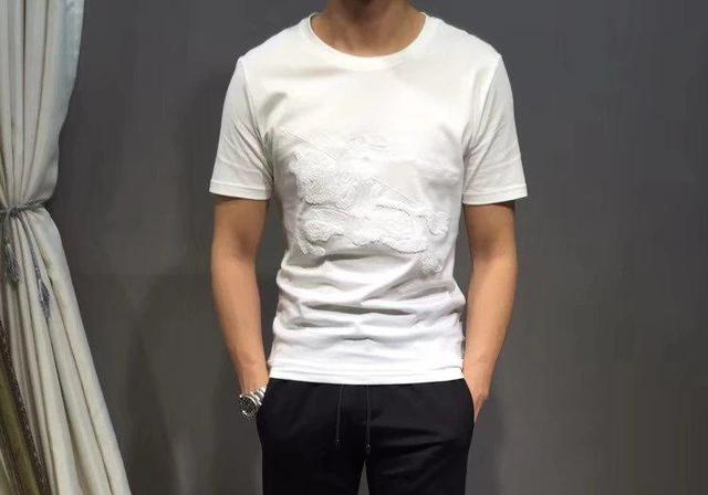 巴宝莉男装短袖t恤新款 - 巴宝莉男装短袖t恤2020年新款 - 京东