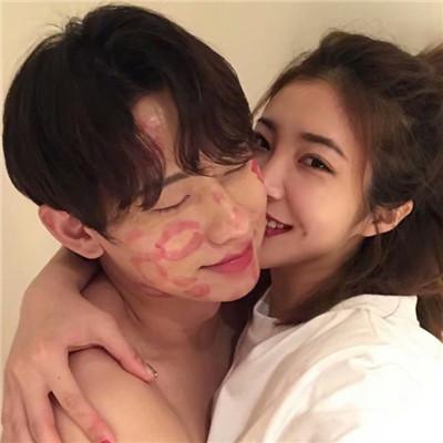 韩系情头两张,高清好看的韩系情头最新图片_情侣头像_美头网